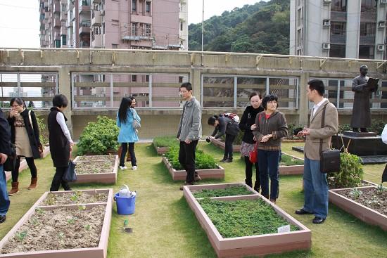 深圳宝安区海旺中学教师团参观空中朗园